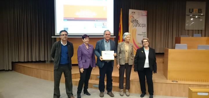 20042017 - L'Ajuntament de Calella torna a rebre el segell Infoparticipa