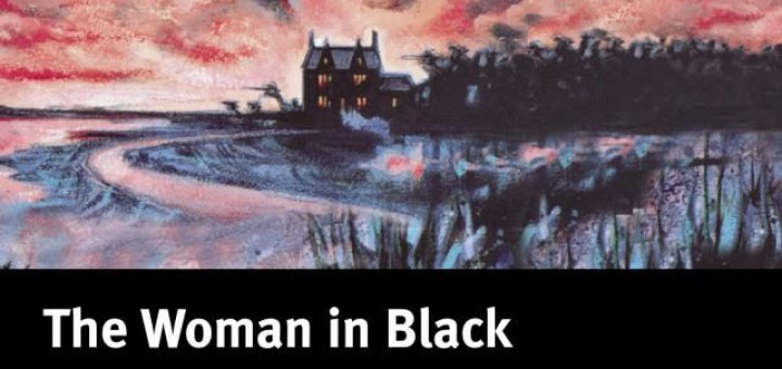 The woman in black.