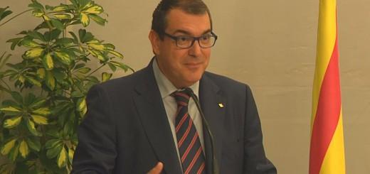 El conseller Jané a Calella, octubre 2015