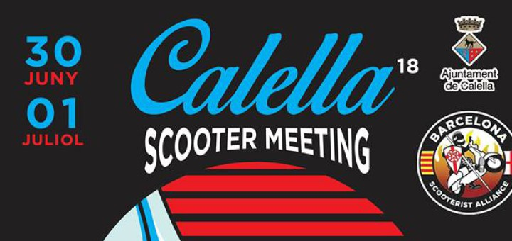 17è Scooter Meeting a Calella