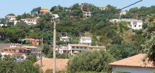 Pineda de Mar. Urbanització de Can Carreras, a cavall de Calella