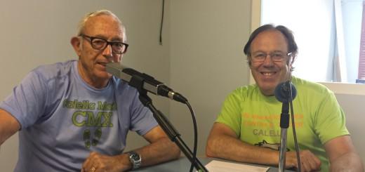 Francesc Montero i Martí Barrera als estudis de RCTV