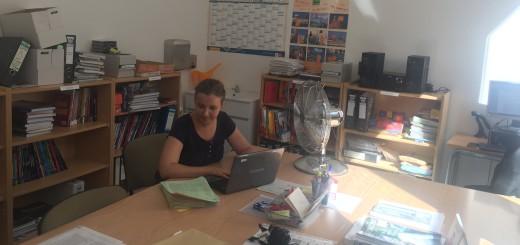 Sala de professors de l'EOI de Calella