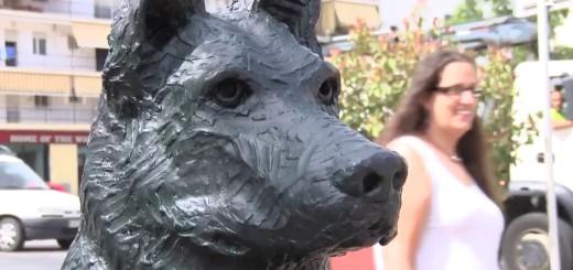 [VÍDEO] La llopa, la segona escultura de bronze, regna la riera Capaspre