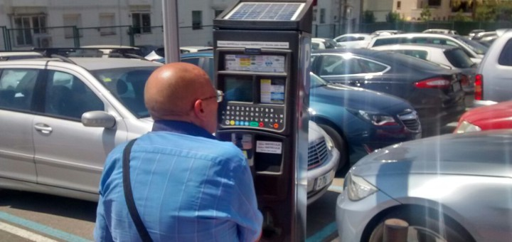 parquímetre_zonablava_calella_cotxe_aparcament