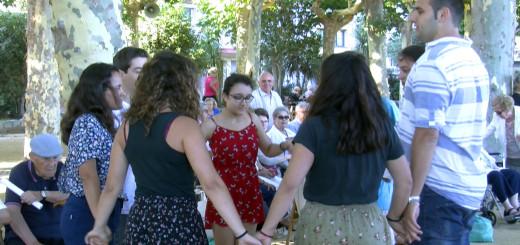 Sardanes Passeig de Mar Calella