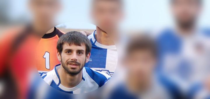 Xavier Benito, nou jugador del CF Calella (Foto: Facebook)