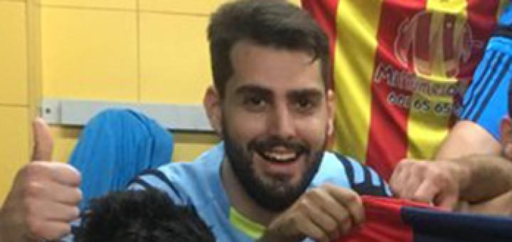 Ruben Bernal, nou jugador de CF Calella ( Foto: CF Tordera)