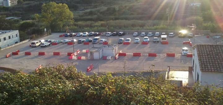 El nou aparcament púbic gratuït de la Riera Capaspre va entrar en funcionament aquest dilluns
