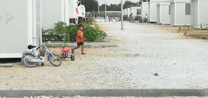 Foto : Anna del Hoyo, Camp de refugiats de Salònica, Grècia