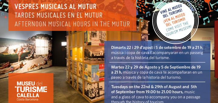 El MUTUR ofereix visites amb música en directe a partir d'aquest dimarts