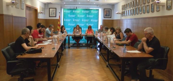 Sessió extraordinària del ple d'ahir dilluns 28 d'agost