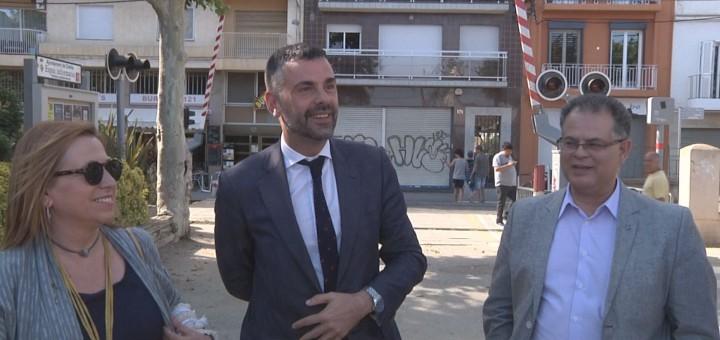 Santi Vila a Calella, 16 de juny de 2016