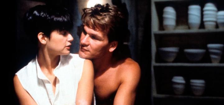 Fotograma de la pel·lícula Ghost que el 1990 triomfava als cinemes