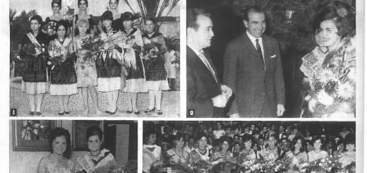 Part de la portada de La Vanguardia, estiu 1966