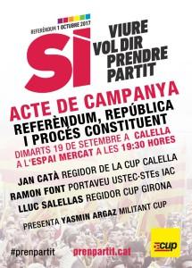 ACTE CUP CALELLA