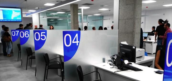 Seu de l'ATC a Mataró, font: La Vanguardia