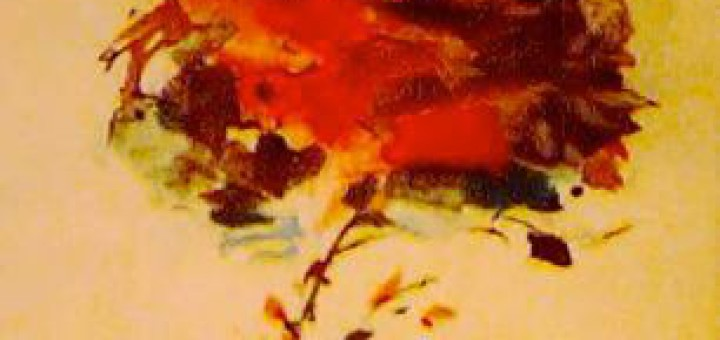 """Quadre anomenat """"Flors esventades"""" del pintor Modest Cuixart"""