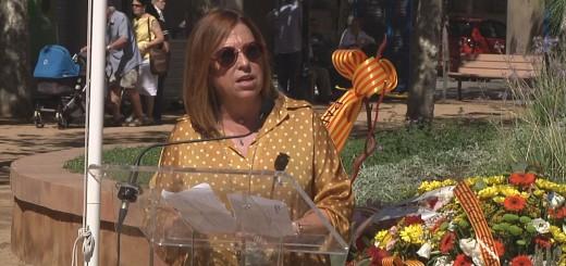 Candini a l'acte insitucional de l'Onze de Setembre a Calella