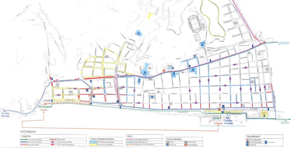 foto mapa ironman trànsit
