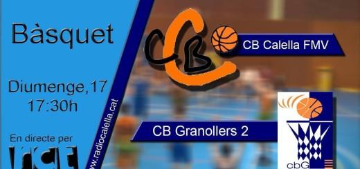 [Vídeo] [Transmissió Esportiva Bàsquet] CB Calella – CB Granollers