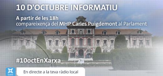 Especial 10 d'octubre-Ràdio_Parlament_La Xarxa