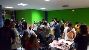 50 persones han passat la nit dins l'Escola Pia