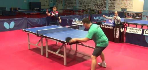 [Vídeo] Tranmissió Tennis Taula: Termotur Calella – CN Mataró