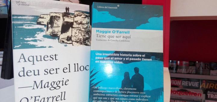 MAGGIE O' FARRELL