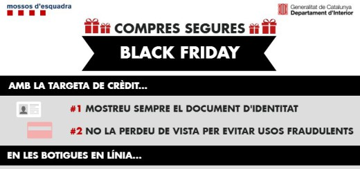 Mossos Black Friday