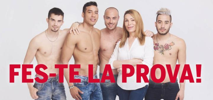 Imatge de la campanya de BCN Checkpoint sobre la Setmana Europea de la Prova del VIH