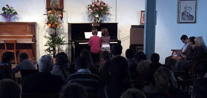 Concert d'alumnes de Can Salom, en una imatge d'arxiu