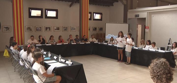 Sessió del Consell d'Infants 2017