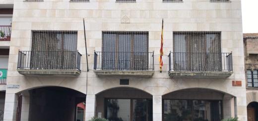 Façana Ajuntament sense pancart