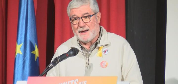 Josep Puig a l'acte central de Junts per Catalunya a Calella