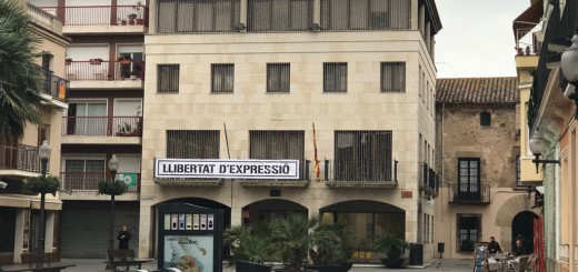 Pancarta Llibertat Expressió