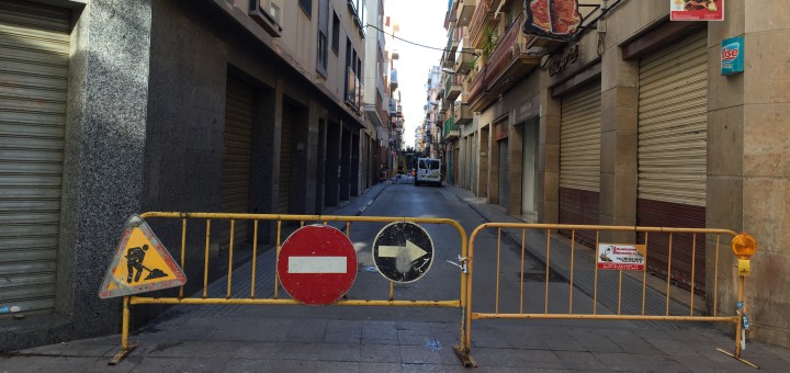 Tall de carrer Jovara