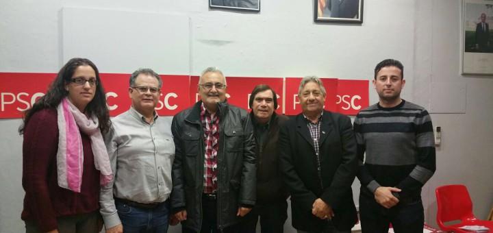 L'AAVV Calella Centre, en una reunió amb el grup municipal del PSC
