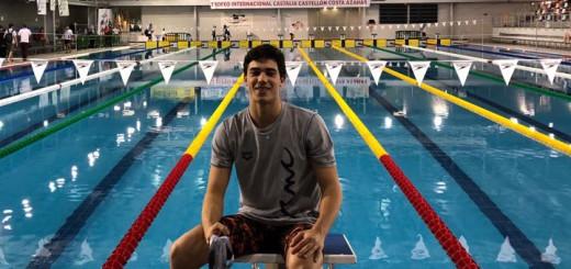 El nedador Àlex Castejón en una imatge d'arxiu
