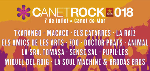 Cartell Canet Rock