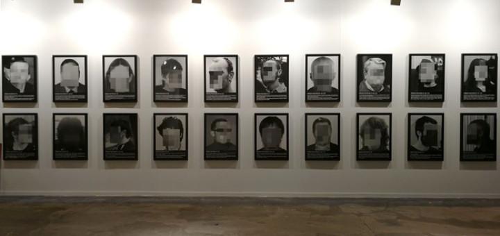 L'obra 'Presos polítics a l'Espanya contemporània' de Santiago Sierra