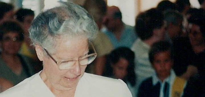 La germana Pilar (Foto: Parròquia de Calella)