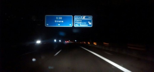 Autopista C-32, sortida de Calella