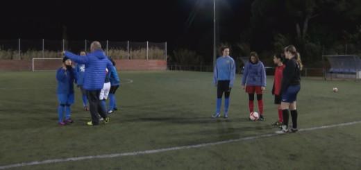 Equip Sènior Femení del CF Calella (Foto: arxiu)