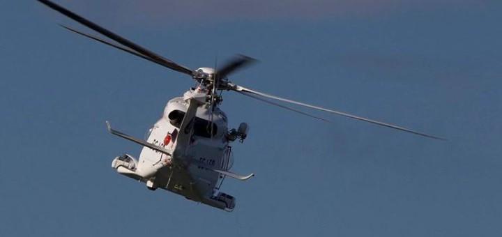 Un helicòpter de Salvament Marítim (Foto: Salvament Marítim)