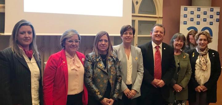 Alcaldesses maresmenques a la tertúlia sobre dones i política