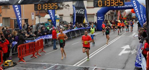 Josep Lluís Díaz a la Mitja Marató de Granollers