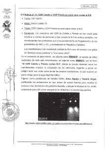 Informe Guàrdia Civil CDR Calella i CDR Pineda