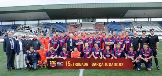 15ª Trobada Barça Jugadors, lany 2016, a Figueres. Foto: Agrupació Barça Jugadors