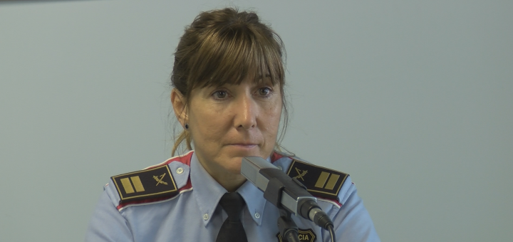 Cristina Manresa, Cap de la Regió Metropolitana Nord, als estudis de RCTV (Foto: arxiu)